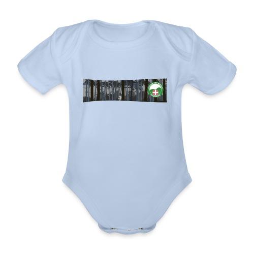 HANTSAR Forest - Organic Short-sleeved Baby Bodysuit