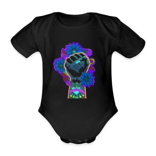 We can do it! - Ekologisk kortärmad babybody