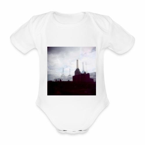 Original Artist design * Battersea - Organic Short-sleeved Baby Bodysuit