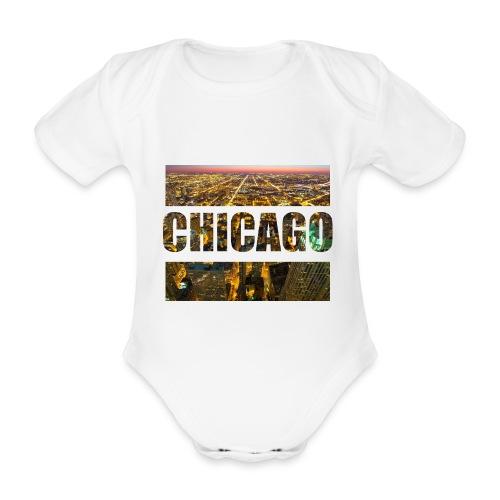 Chicago - Baby Bio-Kurzarm-Body