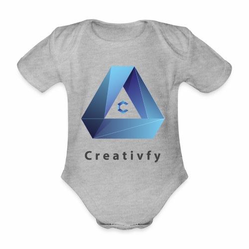 creativfy - Baby Bio-Kurzarm-Body