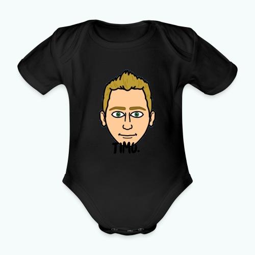 Logo TIMO. - Baby bio-rompertje met korte mouwen