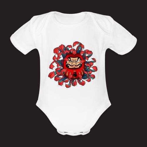 spreadshirt_Daruma - Body Bébé bio manches courtes