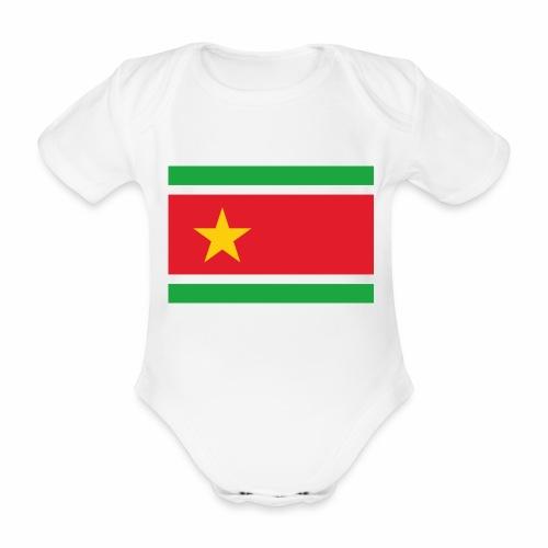 Karukera flag - Body Bébé bio manches courtes