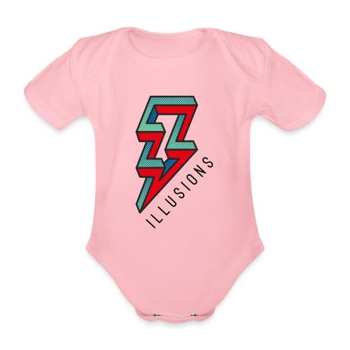 ♂ Lightning - Baby Bio-Kurzarm-Body