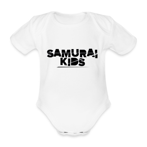 Samurai Kids - Baby Bio-Kurzarm-Body