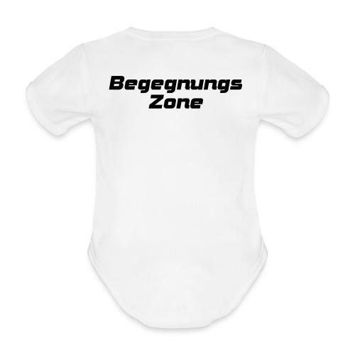 Begegnungszone - Baby Bio-Kurzarm-Body