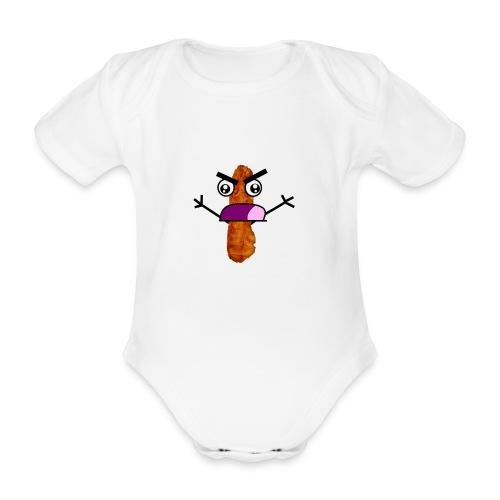 Bacon Man T-Shirt! - Organic Short-sleeved Baby Bodysuit