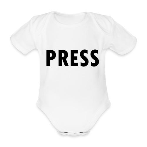 press - Baby Bio-Kurzarm-Body