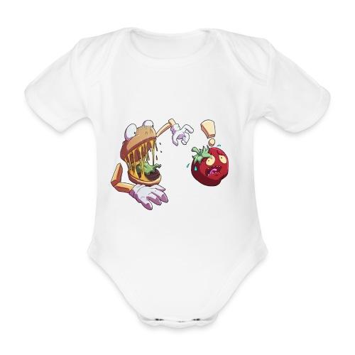 Tomato Chase - Twitch Back - Ekologisk kortärmad babybody