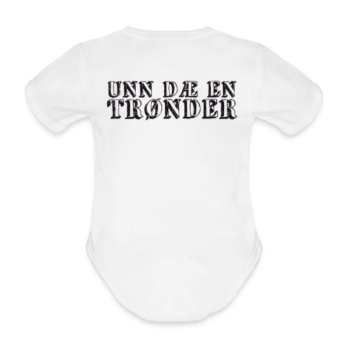 unndae - Økologisk kortermet baby-body