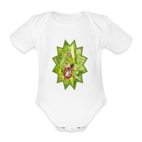 ORCHIDEES 1 - Body Bébé bio manches courtes