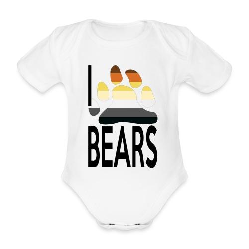 I love bears - Body Bébé bio manches courtes