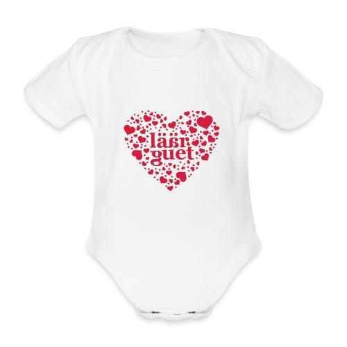 laeaerguetherz - Baby Bio-Kurzarm-Body