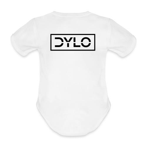 DYLO Logo - Organic Short-sleeved Baby Bodysuit