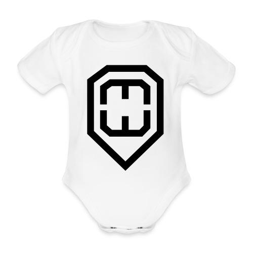 jaymosymbol - Organic Short-sleeved Baby Bodysuit