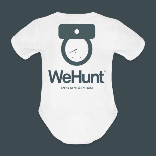 WeHunt - Skitjakt - Ekologisk kortärmad babybody