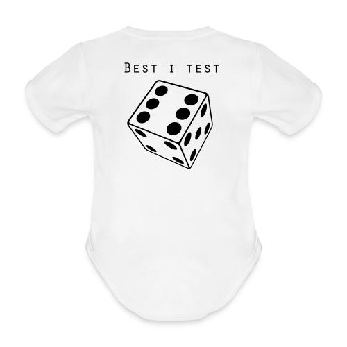 Best i test - Økologisk kortermet baby-body