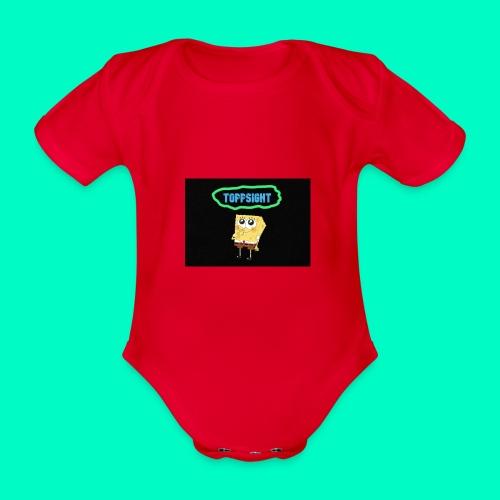 Topsight - Ekologisk kortärmad babybody