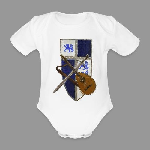 vonardingen_wappen - Baby Bio-Kurzarm-Body