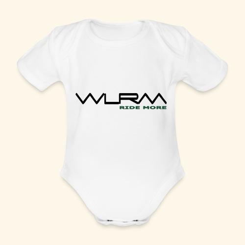 WLRM Schriftzug black png - Baby Bio-Kurzarm-Body