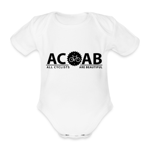 ACAB All Cyclists Are Beautiful T-Shirts - Baby Bio-Kurzarm-Body