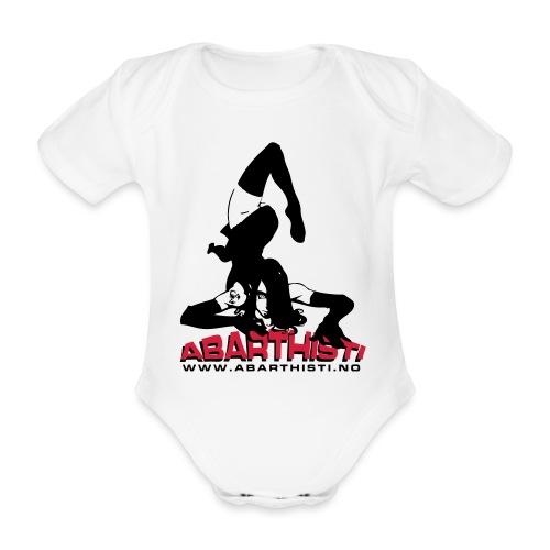 Abarthisti Pinup - Økologisk kortermet baby-body