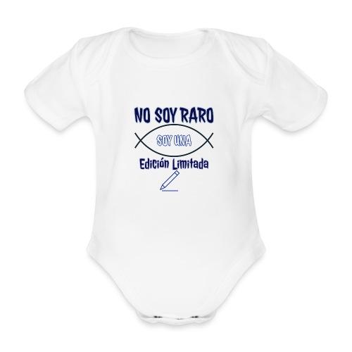 Edicion limitada - Body orgánico de manga corta para bebé