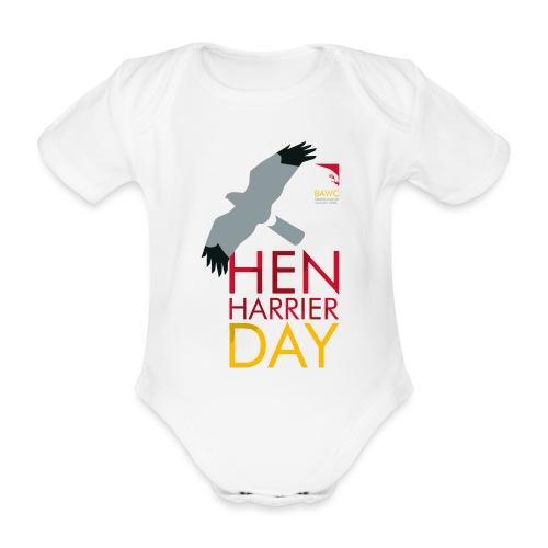 Hen Harrier Day T-Shirt - Organic Short-sleeved Baby Bodysuit