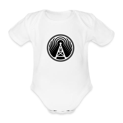 icon piratenradio claim pos klein - Baby Bio-Kurzarm-Body