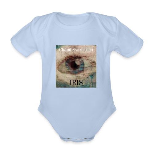 Iris - Økologisk kortermet baby-body