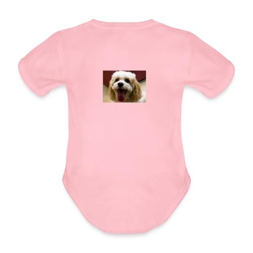 Suki Merch - Organic Short-sleeved Baby Bodysuit