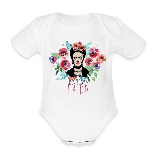Pequeñas Frida - Body ecologico per neonato a manica corta