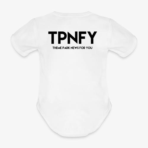 TPNFY - Organic Short-sleeved Baby Bodysuit
