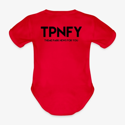 TPNFY - Organic Short-sleeved Baby Bodysuit