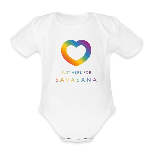 Baby Savasana - Baby Bio-Kurzarm-Body