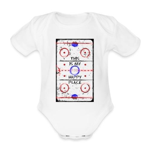 My Happy Place - Baby Bio-Kurzarm-Body