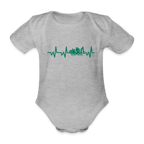 Forst | Herzschlag - Baby Bio-Kurzarm-Body