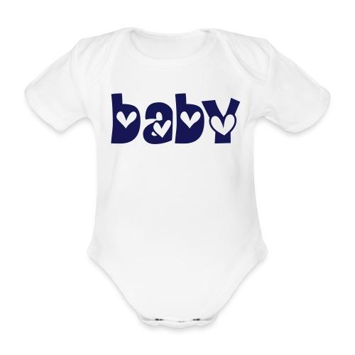 baby - Baby bio-rompertje met korte mouwen