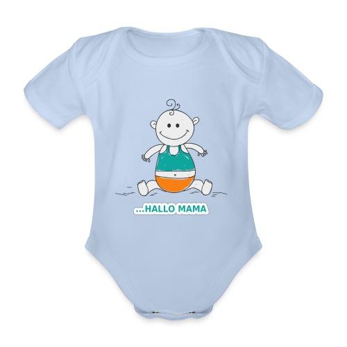 hallo mama png - Baby Bio-Kurzarm-Body