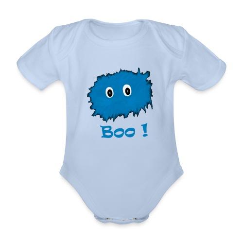 Boo! - Organic Short-sleeved Baby Bodysuit