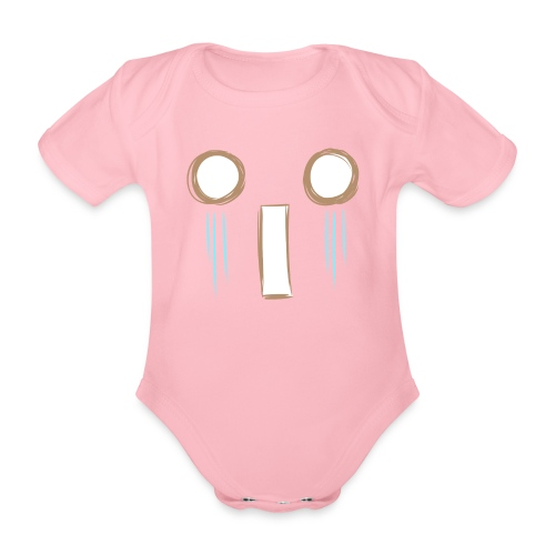 Kawaii_WhattheF_EnChantal - Organic Short-sleeved Baby Bodysuit