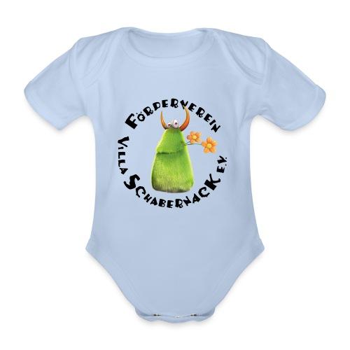 Schabernacki Logo - Baby Bio-Kurzarm-Body