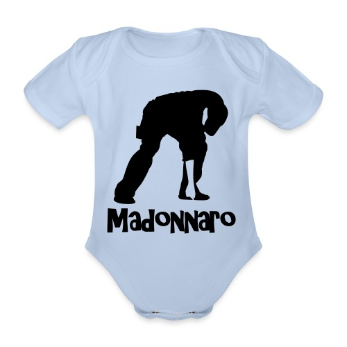 simpler version for logo - Organic Short-sleeved Baby Bodysuit