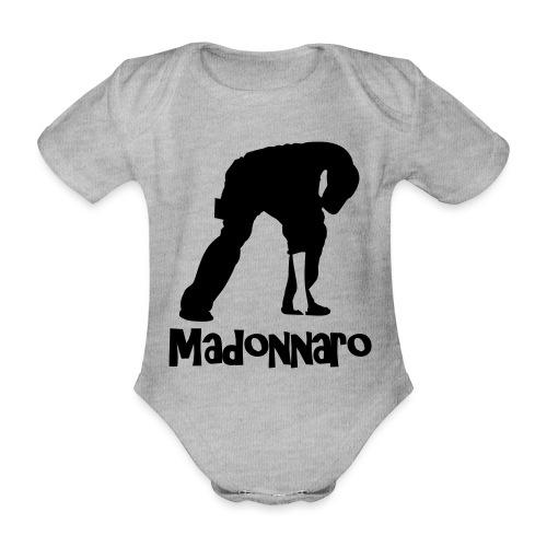 simpler version for logo - Organic Short-sleeved Baby Bodysuit