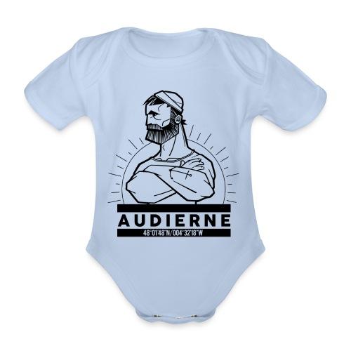 Marin d'Audierne - Body Bébé bio manches courtes
