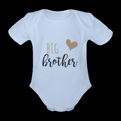 big brother Familyshirt - Baby Bio-Kurzarm-Body