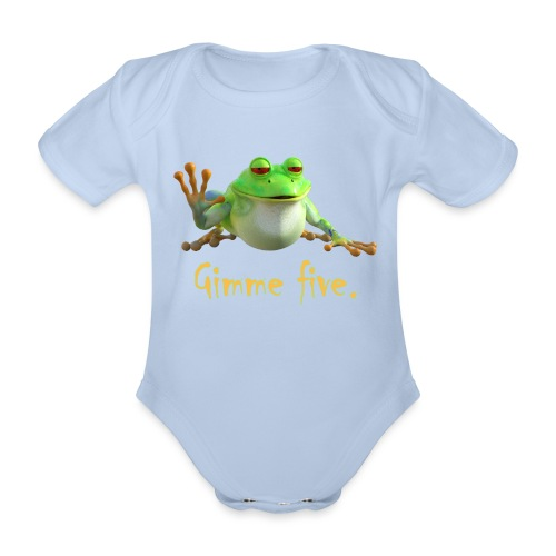Gimme five - Baby Bio-Kurzarm-Body