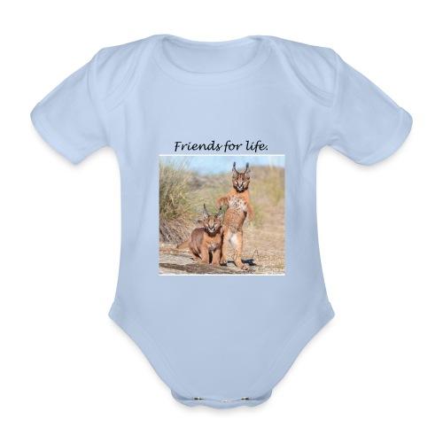 Amigos para la vida - Body orgánico de manga corta para bebé