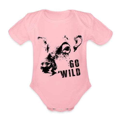 Go Wild - Baby Bio-Kurzarm-Body